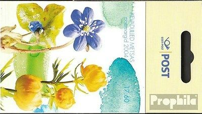 Estonia MH4 (complete.issue.) unmounted mint / never hinged 2004 Flowers