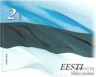 Estonia 788 (complete.issue.) unmounted mint / never hinged 2014 Flag