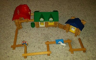 The Original Lincoln Logs Double T Ranch