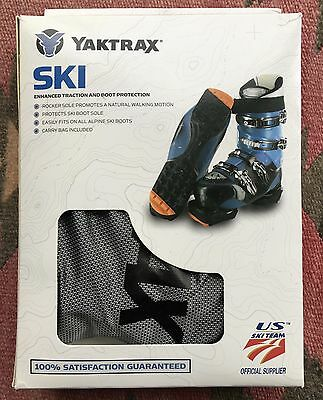 YakTrax SKITRAX Enhanced Traction and Boot Protection SZ Large