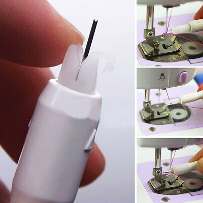 Practical Needle Threader Insertion Tool Applicator For Sewing Machine Serger