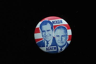 Vintage Richard Nixon Pin - Original Presidential 1968 Political Button Pinback
