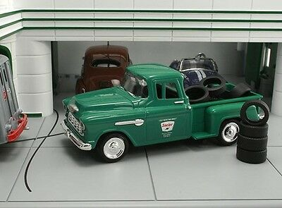 "New In Box  1/43 1955 Chevrolet Stepside  Pickup ""Sinclair"" with 10 Tires"