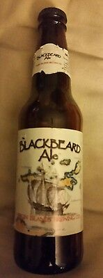 *RARE* St. Thomas Virgin Island PIRATE BLACKBEARD Ale VINTAGE 1990s Bottle w Cap