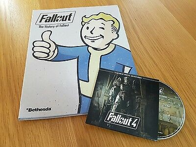 Fallout: The History of Fallout Full Colour Book + Fallout 4: Featured Music CD