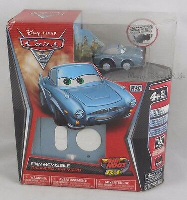 NEW Disney Pixar CARS 2 Remote Control Finn McMissile Micro R/C Air Hogs