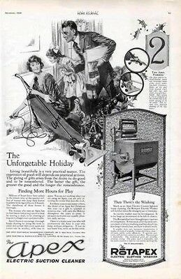 1920 Apex Electric Suction Cleaner Caswell Christmas Ad6697