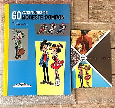 GOLDEN CREEK / GRAND XXème FRANQUIN MODESTE ET POMPON 495 EX GRAND FORMAT NEUF