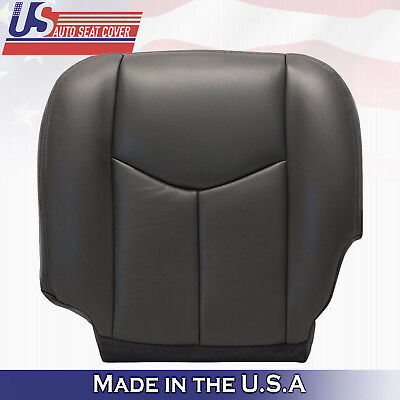 2003 04 2005 2006 Chevy Silverado 1500 2500 Driver Bottom Seat Cover dark-gray