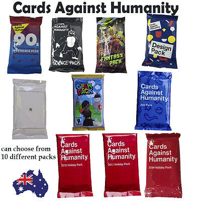 NEW Cards Against Humanity 1x Booster Expansion Pack Card Party Game