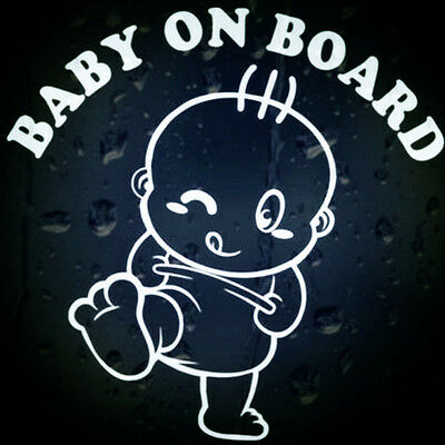 Cool Baby on Board Vinyl in Car Graphics Window Vehicle Sticker Decal Decor Auto
