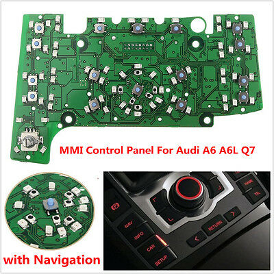 Multimedia MMI Control Panel Circuit Board w/ Navigation E380 for AUDI A6 A6L Q7