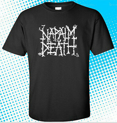 British extreme metal band T_shirt-SIZES:S to 6XL NAPALM DEATH
