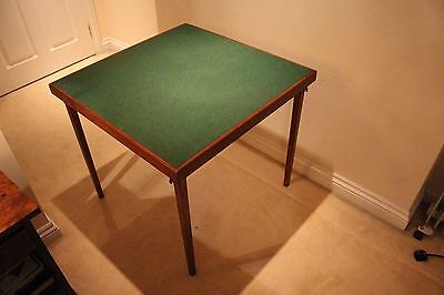 Card Table with folding legs (ideal for Bridge or Poker)