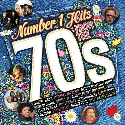 NUMBER 1 HITS FROM THE 70s VARIOUS ARTISTS 2 CD NEW