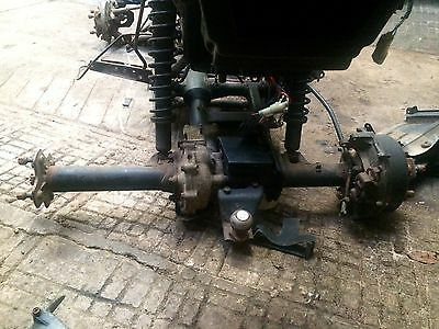 Honda TRX500 Rear Axle And Diff Complete