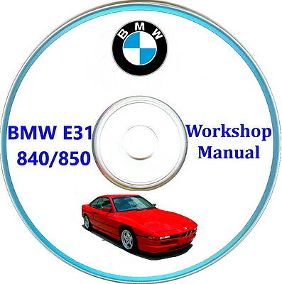 BMW 850 workshop manual,Bmw E31 serie 8,840/850 manuale officina