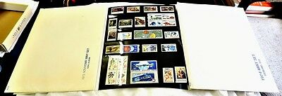 U.S.A.  1973-1974-1975 Presentation Books, blocks of 4 etc.  Catalogue approx £2
