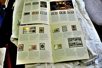 U.S.A.  1982 Year Presentation Books both mint Commemorative and Definitives.  C