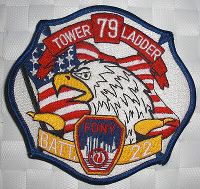 FDNY - Patch - FDNY- TOWER LADDER 79