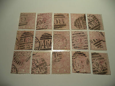 Sg 141 Complete Plates 3 To 17 Lovely  Collection  Reduced