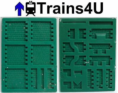 x2 Linka Green Stone and Roof Moulds S5 & R2 (1158)