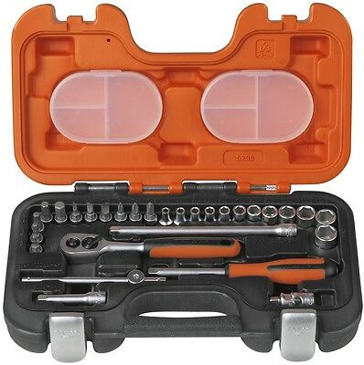 Bahco S290 Socket Set 29-Piece 1/4in Drive