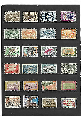 Collectors Clearout - Useful Cameroon - selection #1318