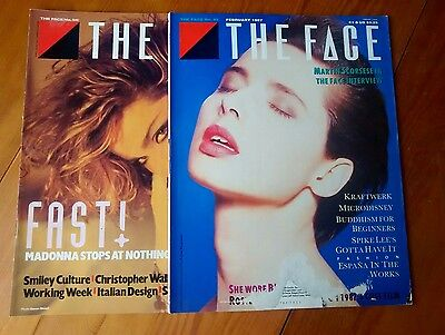 The Face Magazine - numbers 58 and 82 - damaged