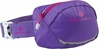 RON HILL Motion Runners Waist Pack Bum Bag 1.5L - Purple WATER RESISTANT(119752)