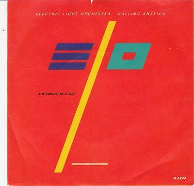 "Electric Light Orchestra - ""calling America"" - Uk 7"" Vinyl Single A6844"