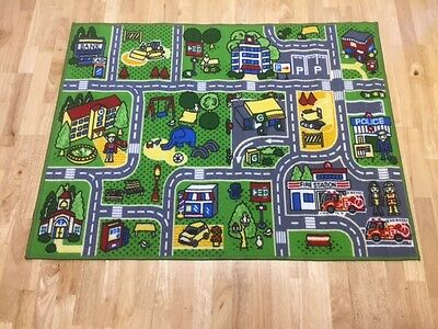 CHILDRENS Play Mat Town Street Map Girls and Boys ROAD FLOOR MAT