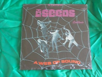 THE SEEDS - A WEB OF SOUND vinile I° PRESS ORIG US su GNP CRESCENDO