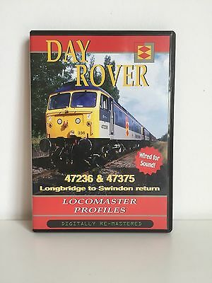 Day Rover | Class 47 | Cab Ride | Locomaster Profiles | Railway DVD