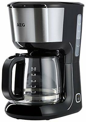 AEG, Macchina per caffè Perfect Morning, KF3700, 1080 Watt, 1,5 litro,