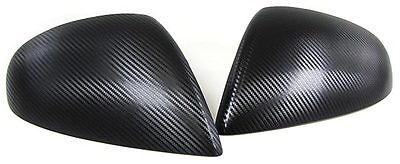 Carbon Fibre Finish Mirror Covers For Vw Touareg  Facelift Model Nice Gift Item
