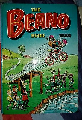 The Beano Vintage Comic Book Annual 1986 Clipped But Fine Condition