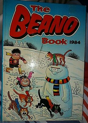 The Beano Vintage Comic Book Annual 1984 Clipped But Fine Condition