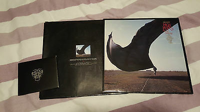 "Pink Floyd ""High Hopes"" 12"" Blue Vinyl Ltd Edition - Complete with 7 postcards"