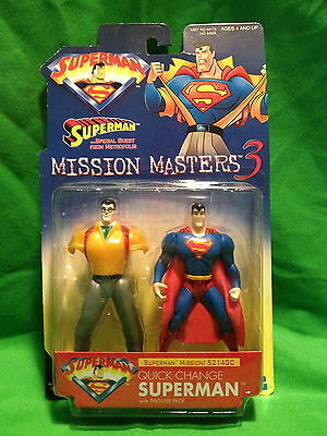 Superman Mission 5214GC Mission Masters 3 Quick Change disguise pack