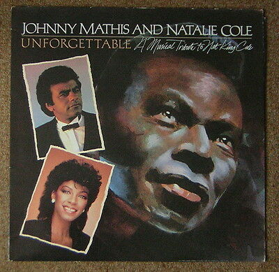 Johnny Mathis and Natalie Cole - Unforgettable - A Tribute To Nat King Cole LP
