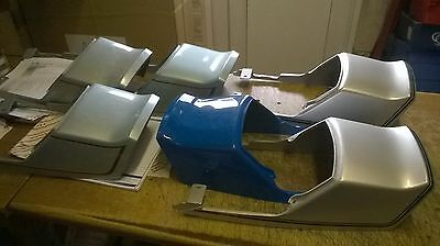 Kawasaki Z250 A/b Collection Of Tail Pieces (X6)  Genuine New Parts 14025-1060
