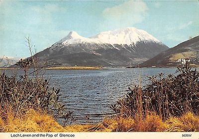 B101904 loch leven and the pap of glencoe   scotland