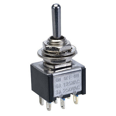 Miniature Toggle Switches for model railways - 6 Types available