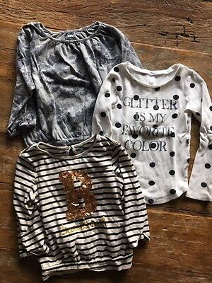 Lot Of Old Navy Girls Long Sleeve T Shirts Size L 10-12