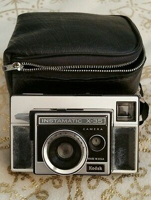Vintage �� Kodak Instamatic x-35 Viewfinder Camera ��