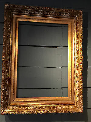 Frame Antique Picture Gilded Stuc  Barbican Vintage 19th Century