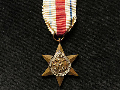 GB WWII Africa Star Medal, full-size original