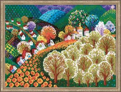 """Counted Cross Stitch Kit RIOLIS - """"Valley of  Fairytale"""""""