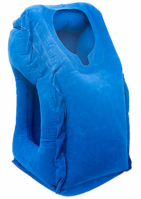 Luxburg Travel Pillow Head Rest Neck Support Natural and Comforting Traveling